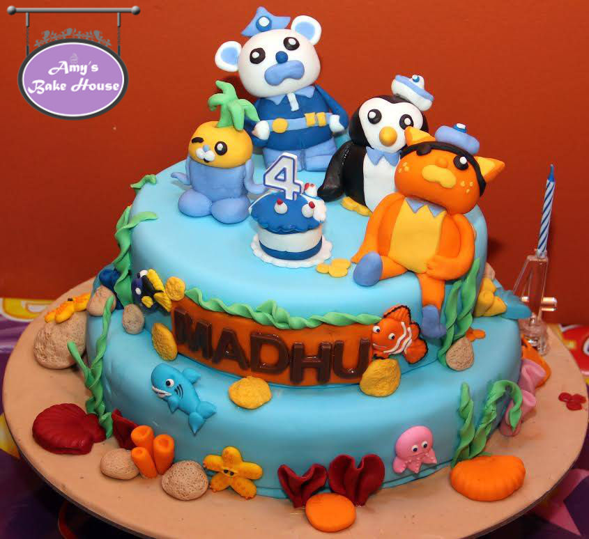 Octonauts Birthday Cake Amys Bake House