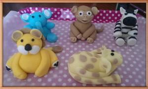Jungle Themed Birthday Cakes