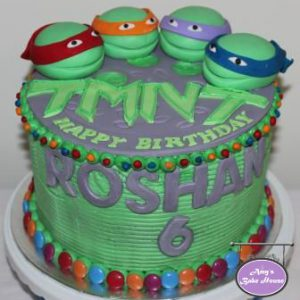 TMNT Themed Birthday Cake