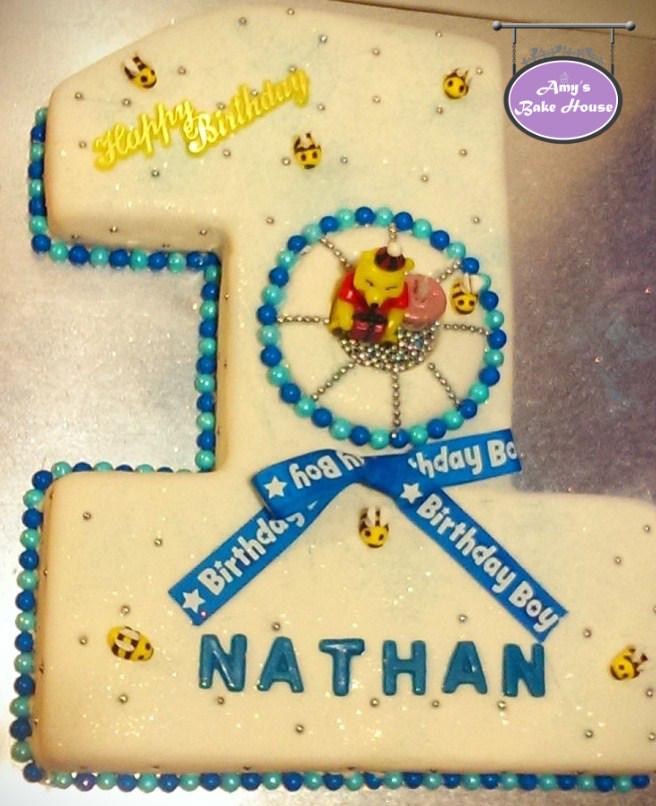 Number One Birthday Cake