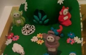 Teletubbies Birthday Cake