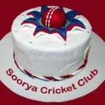 Cricket Cake for Soorya Cricket Club