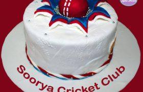 Cricket Cake for Soorya Cricket Club