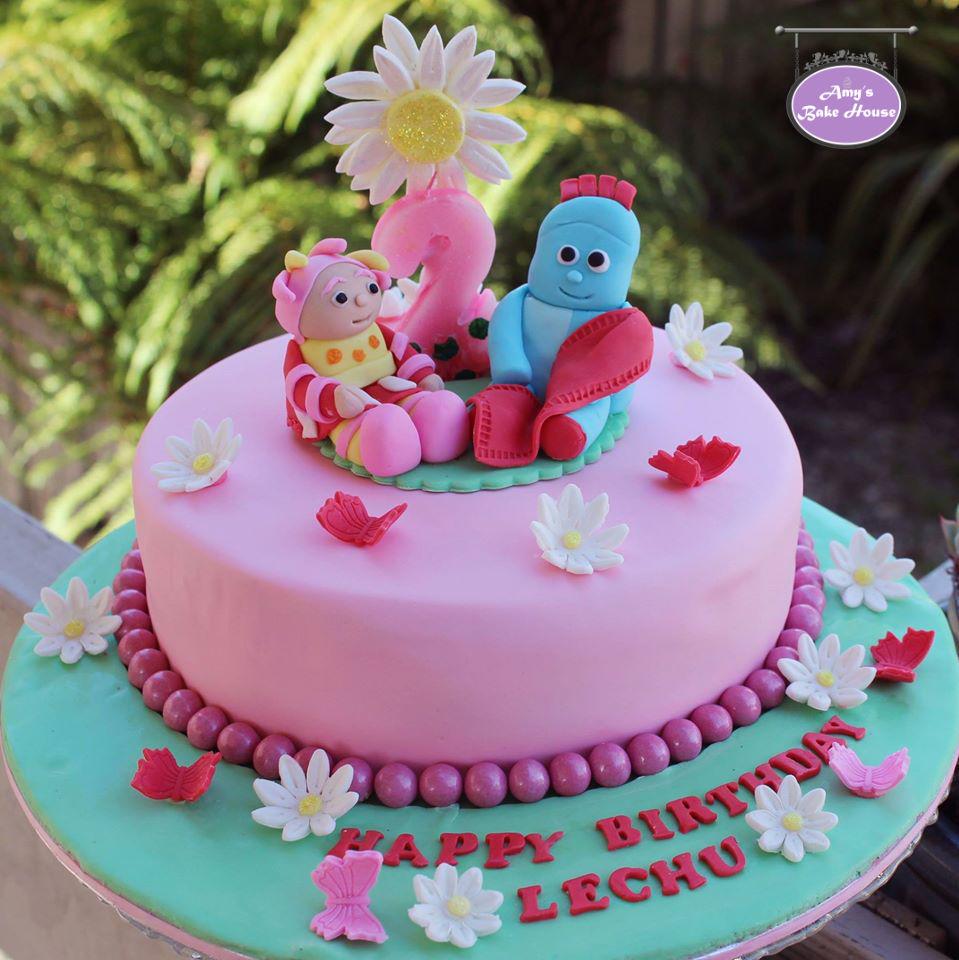 Iggle Piggle Upsy Daisy In The Night Garden Birthday Cake Amys