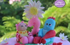 Iggle Piggle Upsy Daisy In the Night Garden Birthday Cake