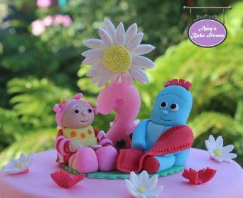 Iggle Piggle Upsy Daisy In the Night Garden Birthday Cake