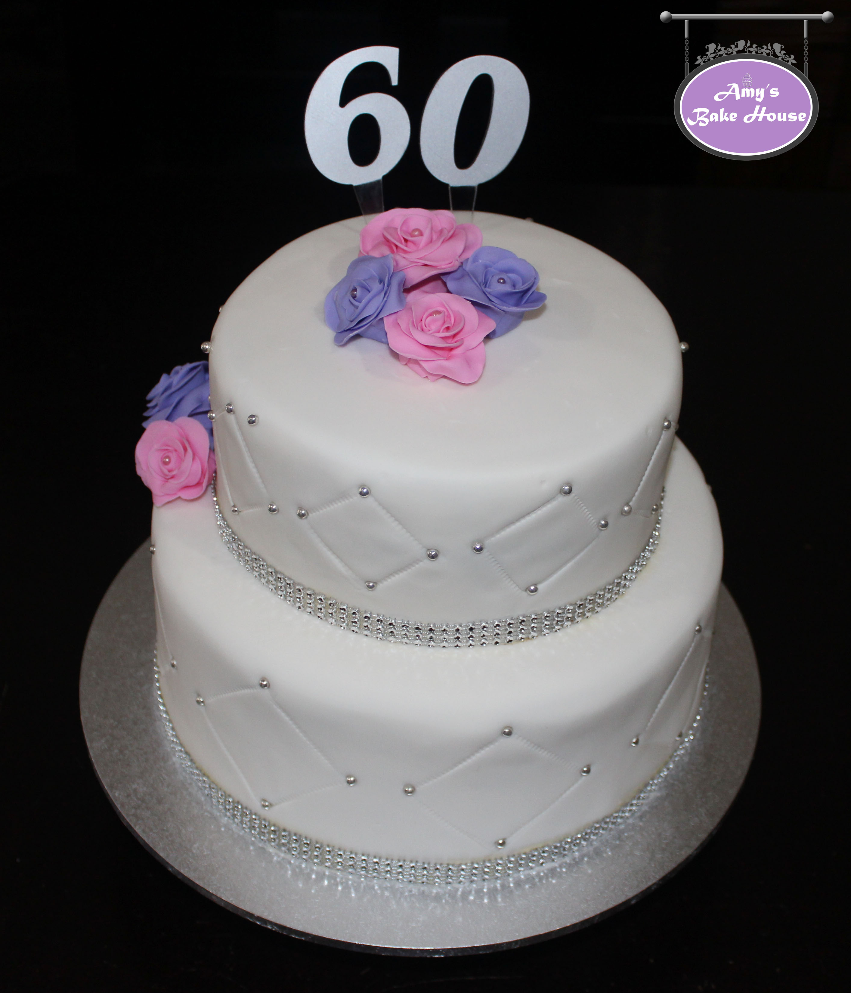 60th Birthday Cake Amys Bake House