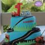 Disney & Hot Wheels Car Themed Birthday Cake