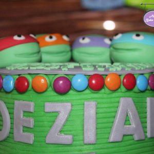 Ninja Turtles Birthday Cake