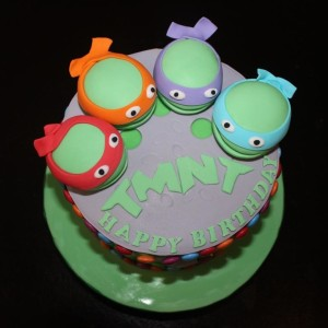 Ninja Turtles Birthday Cakes