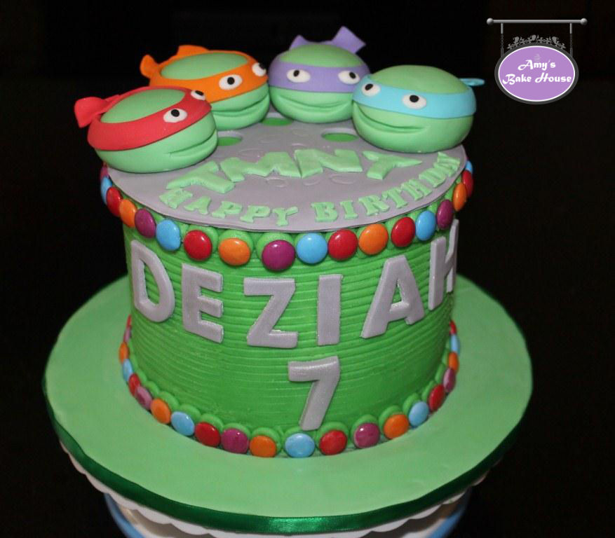 Ninja Turtles Birthday Cake  Amys Bake House