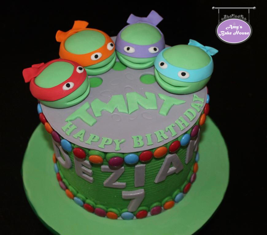 Ninja Turtles Birthday Cake Amys Bake House