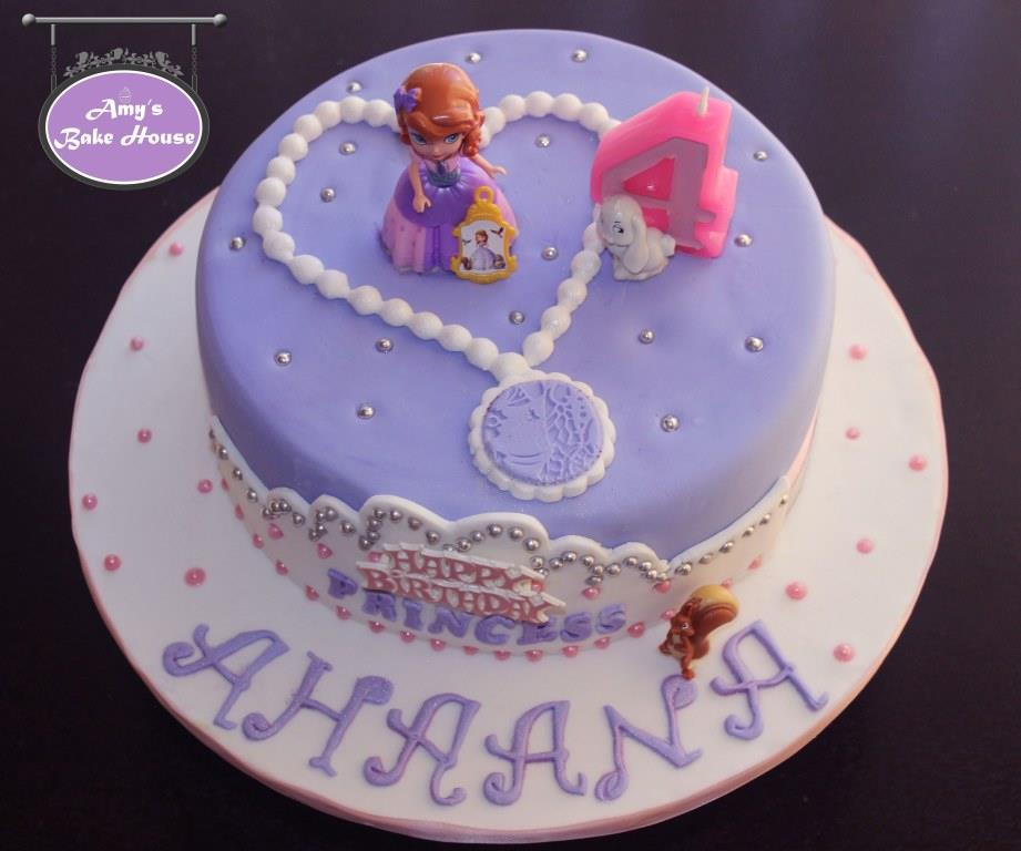 Sofia The First Birthday Cake Amy S Bake House