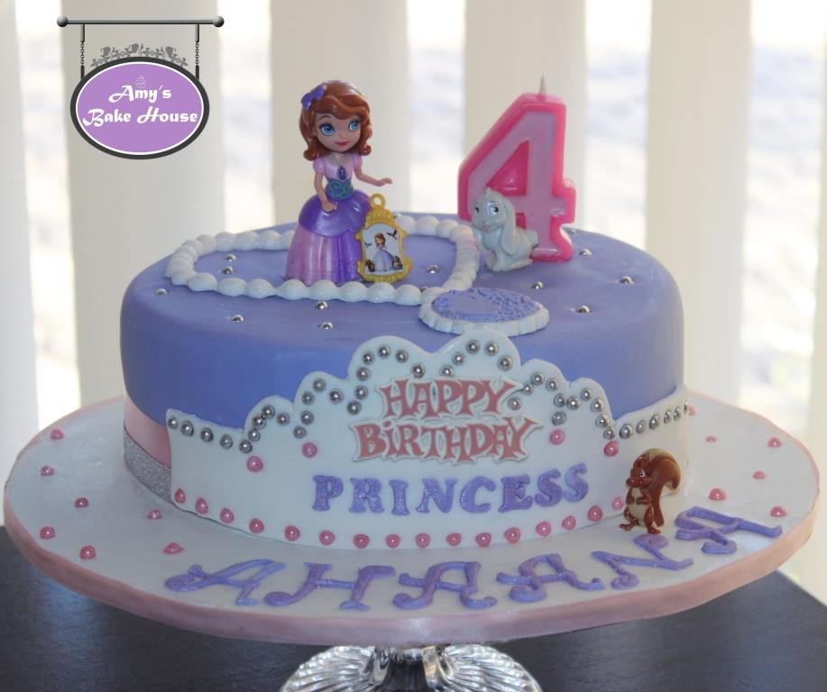Sofia The First Birthday Cake Amys Bake House