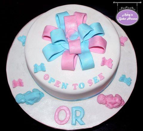Baby Shower Pinata Cake
