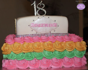 Bollywood 18th Birthday Cake