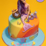 Rainbow Mermaid Birthday Cake