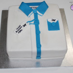 Shirt Birthday Cake
