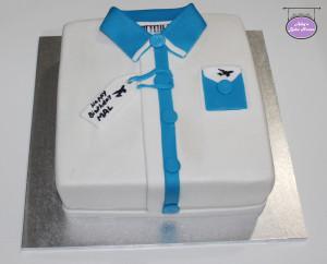 Shirt Birthday Cake