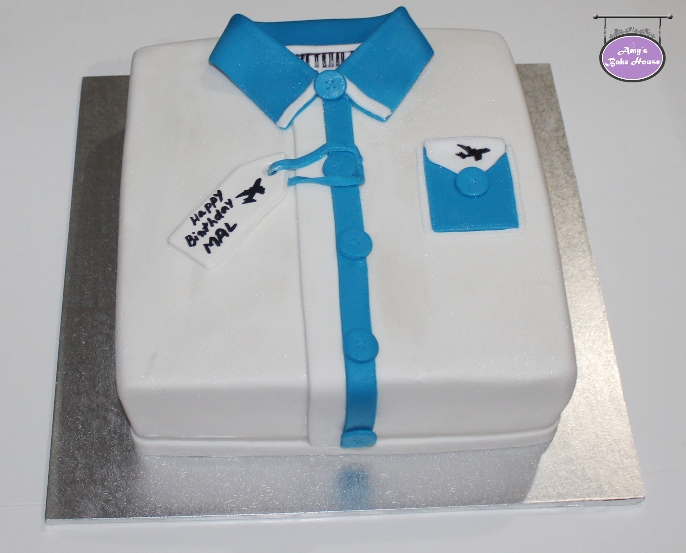 Shirt Birthday Cake Amys Bake House