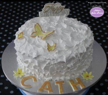 Lady Baltimore Birthday Cake