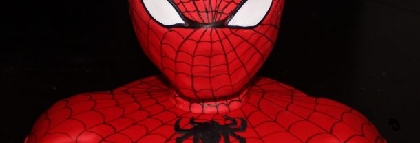3D Spiderman Birthday Cake
