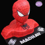3D Spiderman Birthday Cake