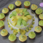 Baby Shower Lemon Cake