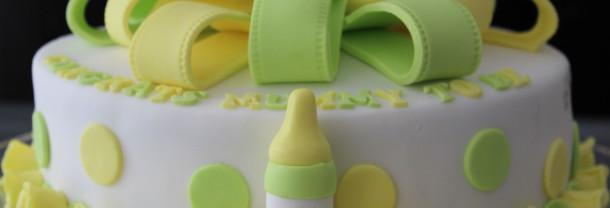 Baby Shower Lemon Cake