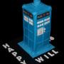 Dr Who Tardis Cake 18th Birthday