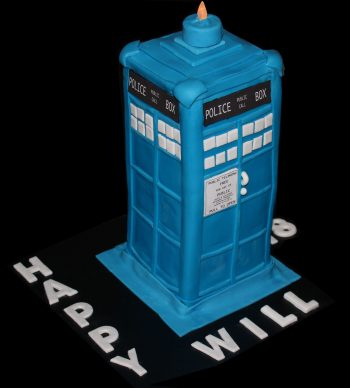 Dr Who Tardis Cake 18th Birthday