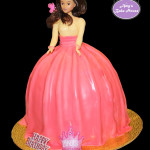 Dolly Varden Birthday Cake