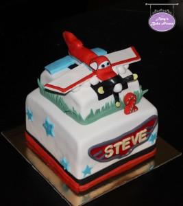 Disney Dusty Plane Birthday Cake