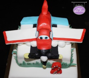 Disney Dusty Plane Birthday Cake