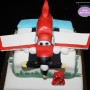 Disney Busty Plane Birthday Cake