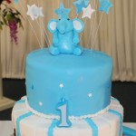 Elephant Themed Birthday Cake