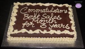Office Celebration Cake