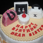 Table Top & Bag Birthday Cake