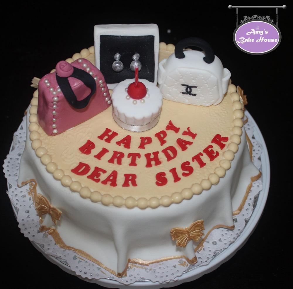 Table Top & Bag Birthday Cake