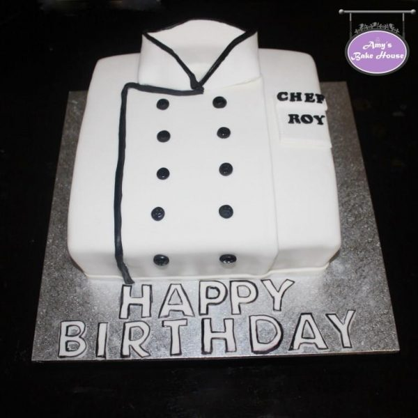 Chef Coat Cake Amy S Bake House