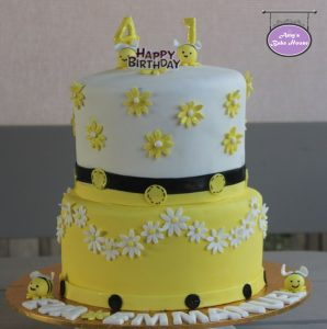HoneyBeeThemedCake (2)