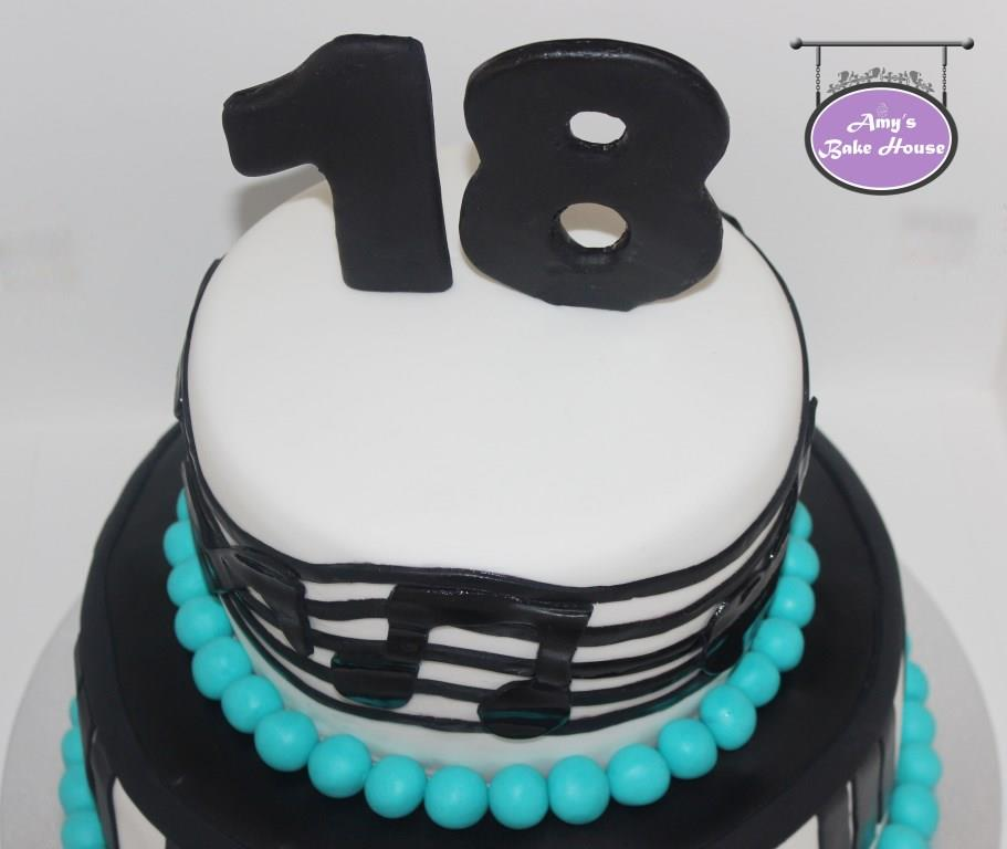 Music Note Cake Amys Bake House